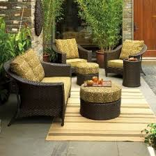 contemporary patio set