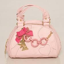 pink designer purse