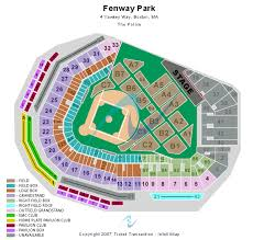 fenway park seat map