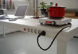 electric table