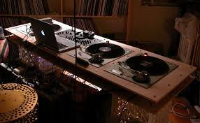 dj scratch table
