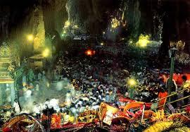 batu caves in malaysia