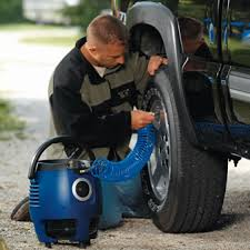 properly inflated tires