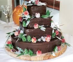 black forest wedding cake
