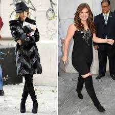 celebrities in thigh high boots