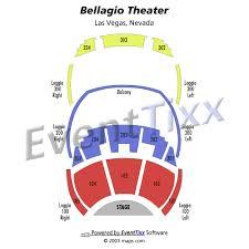 bellagio seating chart