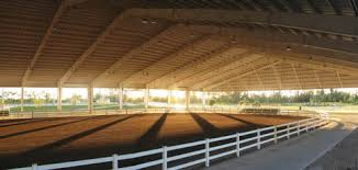 covered horse arenas