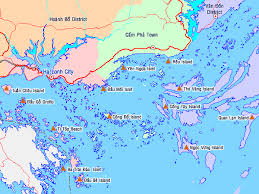 ha long bay map