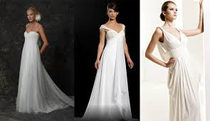 grecian style wedding gowns