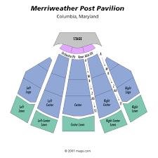 merriweather post pavillion seating