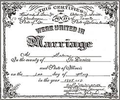 marriage form