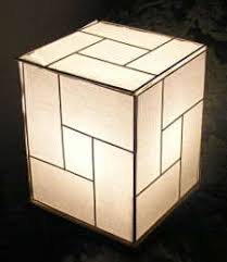 japanese style lamp