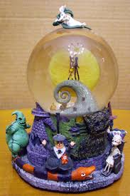 nightmare before christmas globe