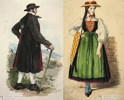german traditional costumes