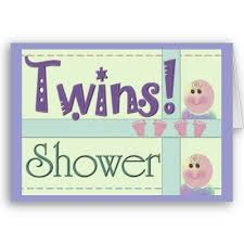 baby shower twins