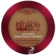 loreal compact powder