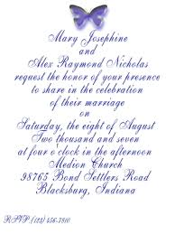 marriage invitation formats