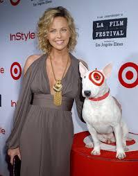bullseye target dog