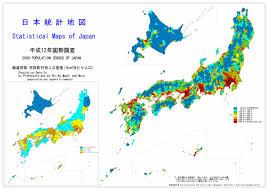 population map of japan