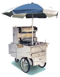 mobile hot dog stand
