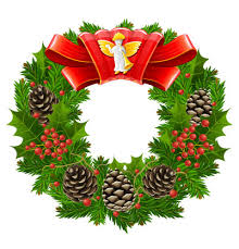 red christmas wreaths