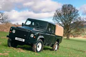 land rover 110 double cab