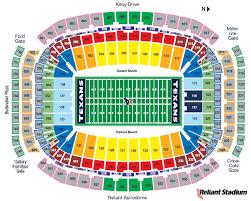 reliant stadium seat