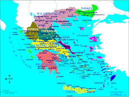 map of greece cities