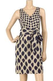 dkny ikat print dress