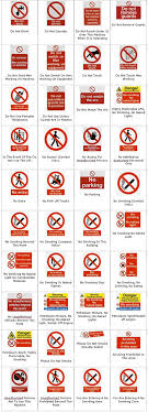 building site safety signs