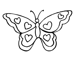 caricaturas de mariposas