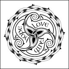 celtic love tattoo