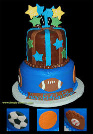 sports themed birthday