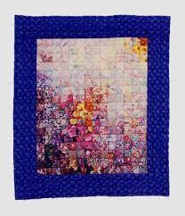 flowered quilt