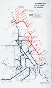 london british rail map