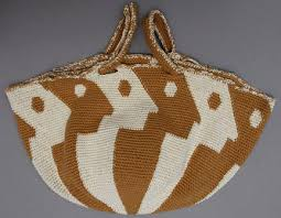 knitted market bags