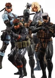 metal action figures