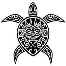 hawaiian tribal turtle