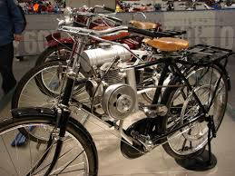 motor assisted bicycle