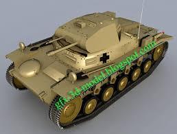 model panzer tank
