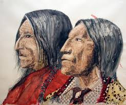 drawings of native americans