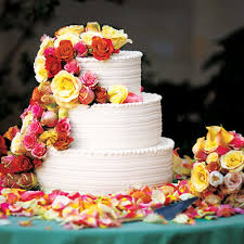 celebrity wedding cakes pictures