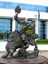 lord of the rings statue