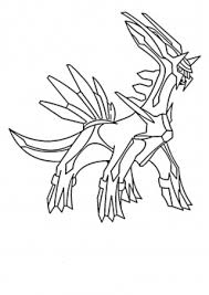 dialga coloring pages