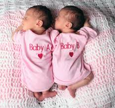 identical twin babies