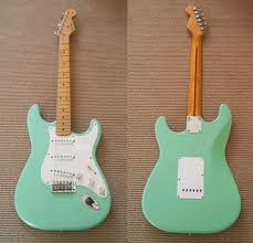 surf green fender