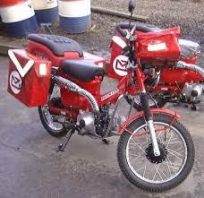 honda postie bikes