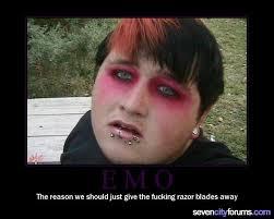 emo halloween costume