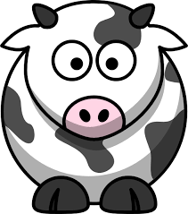 cow cartoon picture