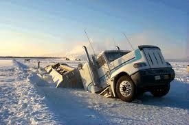 ice car crashes